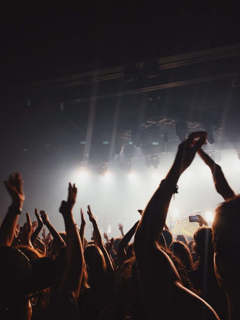 Montaje de conciertos en Barclona